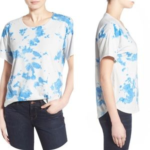 Madewell Spotted Tie-Dye Short-Sleeve Cotton Tee